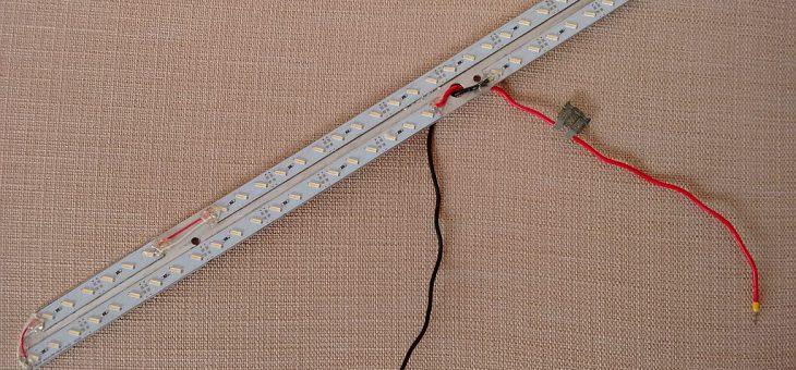 Conversione a led lampada esterna